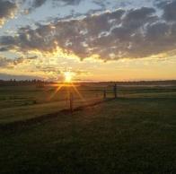 Sunrise - image taken by S & J Litwin